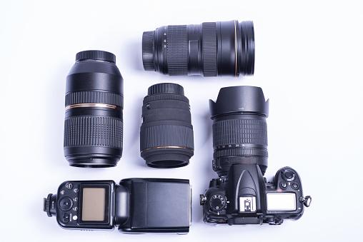 asset labels for camera equipment