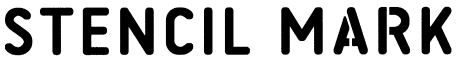 ID MARK stencil mark lettering