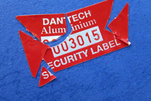 security cuts asset labels