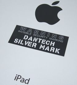 shiny surface security labels