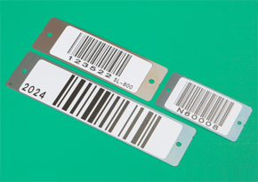 Stainless Steel Barcode ID Plates