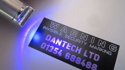 UV security marking