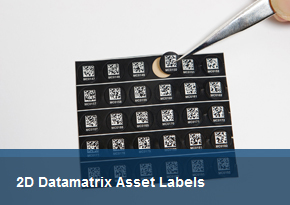 2D Datamatrix Asset Labels