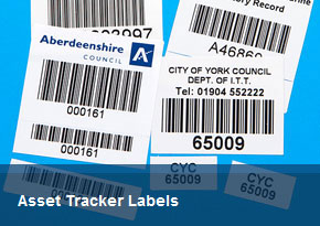 Asset Tracker Labels