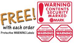 Free Warning Labels