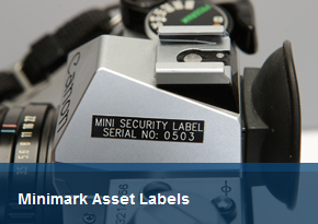Minimark Asset Labels