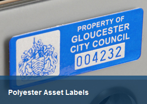 Polyester Asset Labels