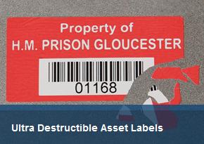 Tamper Evident Asset Labels