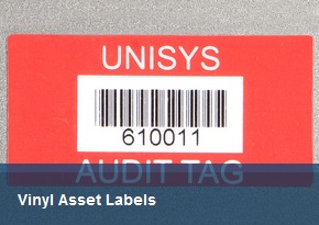 Vinyl Asset Labels