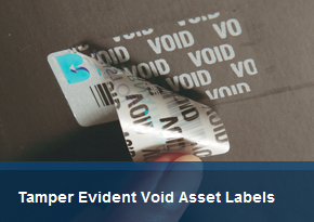 Tamper Evident Void Asset Labels